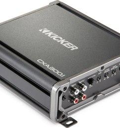 kicker 43cxa300 1 cx series mono subwoofer amplifier 300 watts rms x 1 at 2 ohms at crutchfield com [ 1751 x 1234 Pixel ]