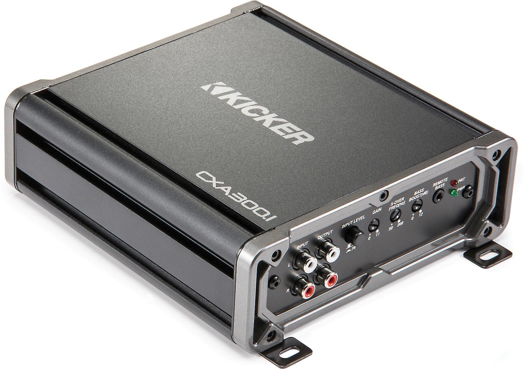 hight resolution of kicker 43cxa300 1 cx series mono subwoofer amplifier 300 watts rms x 1 at 2 ohms at crutchfield com