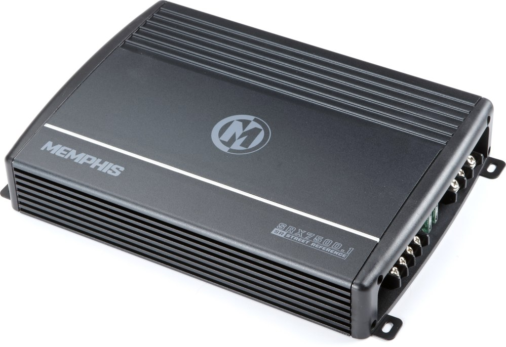 medium resolution of memphis audio 16 srx750d 1 street reference mono subwoofer amplifier 750 watts rms x 1 at 2 ohms at crutchfield