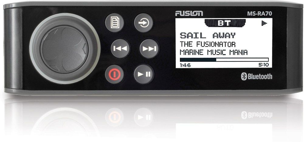 medium resolution of fusion ms ra70 marine digital media receiver with bluetooth does not play cds at crutchfield com