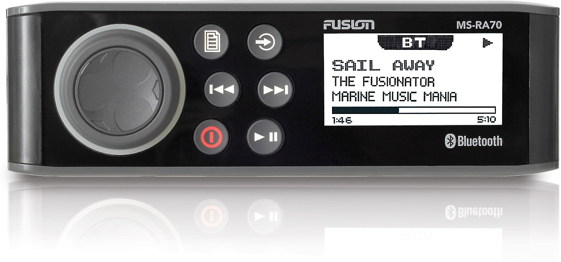 hight resolution of fusion ms ra70 marine digital media receiver with bluetooth does not play cds at crutchfield com