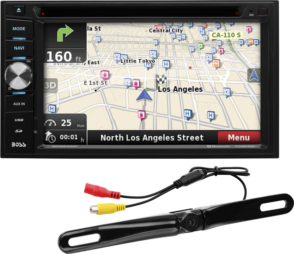 medium resolution of boss bn965blc navigation receiver with included rear view camera at crutchfield com