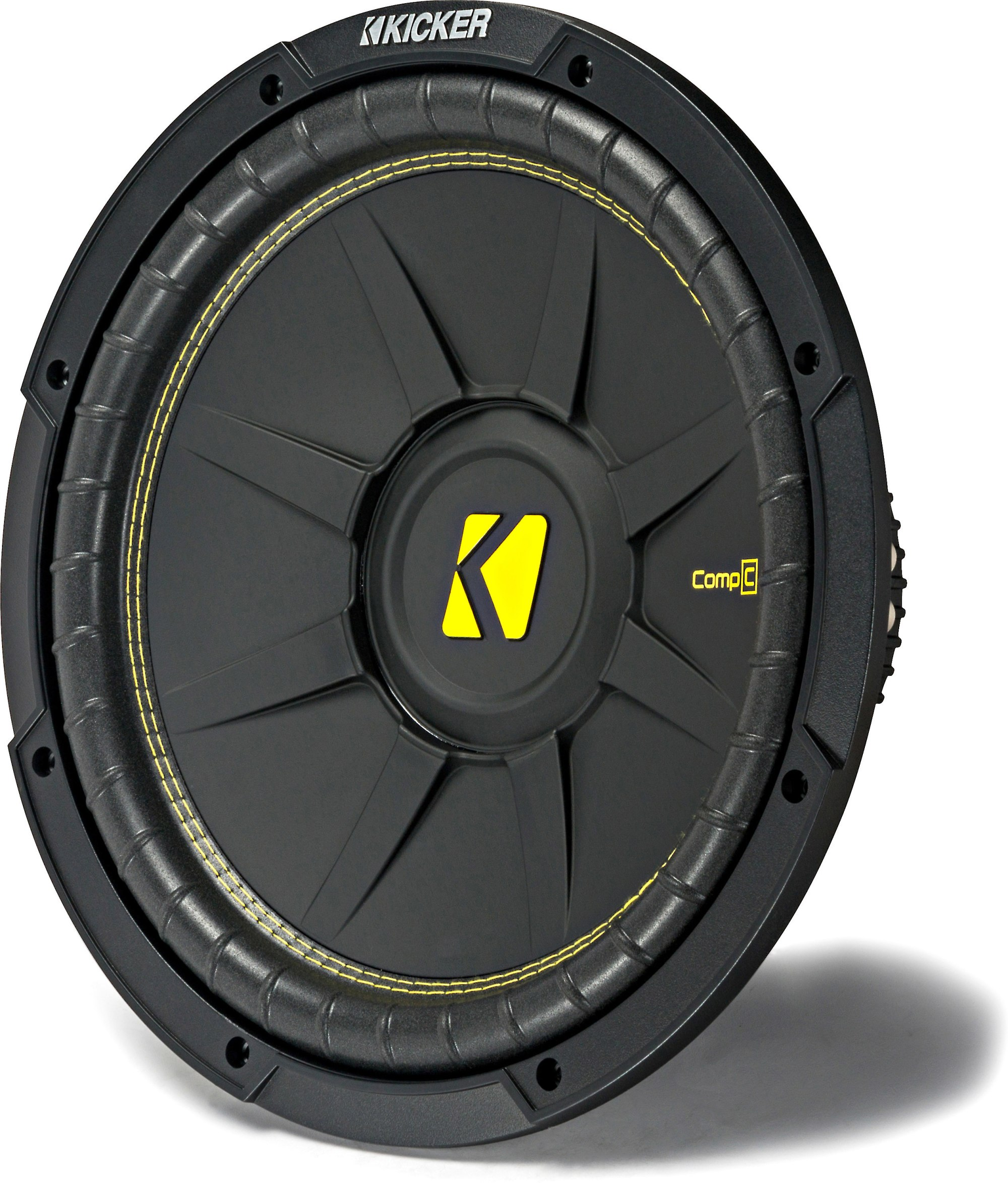 hight resolution of kicker 44cwcd124 compc series 12 subwoofer with dual 4 ohm voice coils at crutchfield
