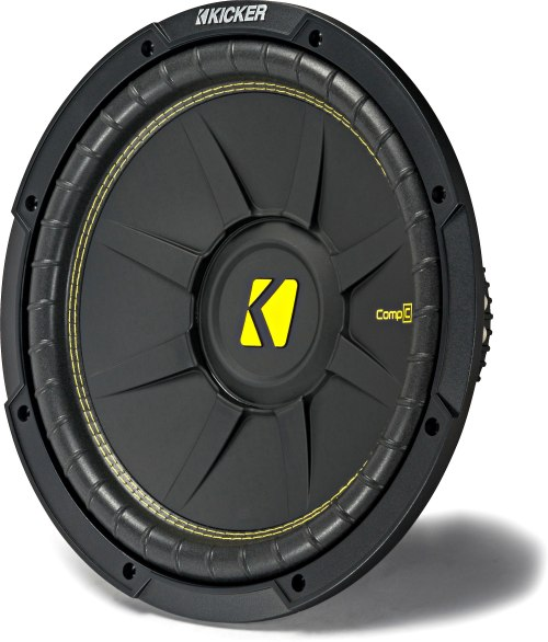 small resolution of kicker 44cwcd124 compc series 12 subwoofer with dual 4 ohm voice coils at crutchfield