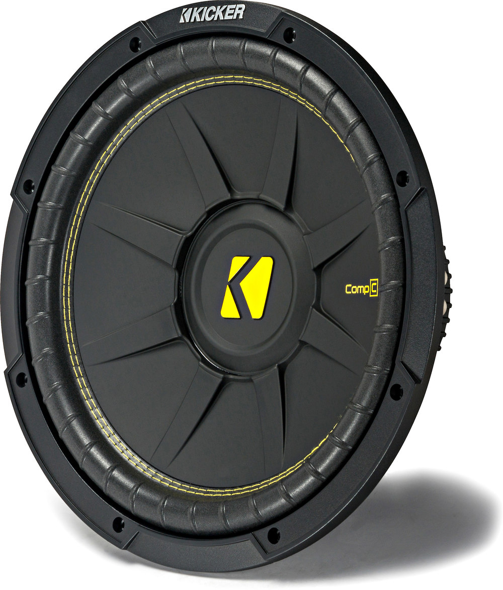 Kicker 44CWCD124 CompC Series 12 subwoofer with dual 4