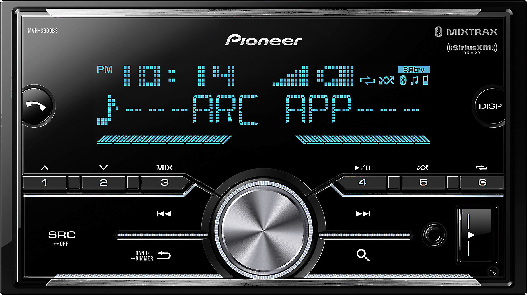 hight resolution of pioneer mvh s600bs digital media receiver does not play cds at crutchfield