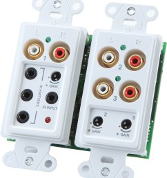 onq lyriq flush mount triple source input in wall audio input module for lyriq multi room audio systems at crutchfield com [ 2812 x 3164 Pixel ]