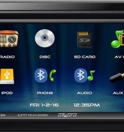 ford flex dvd headrest wiring diagram [ 2551 x 1570 Pixel ]