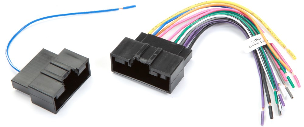 medium resolution of metra 70 5524 receiver wiring harness connect a new car stereo in select 2011 ford fiesta models at crutchfield com