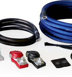 xs power ak2000 secondary battery wiring kit 2000 2500 watts at crutchfield com [ 1433 x 605 Pixel ]
