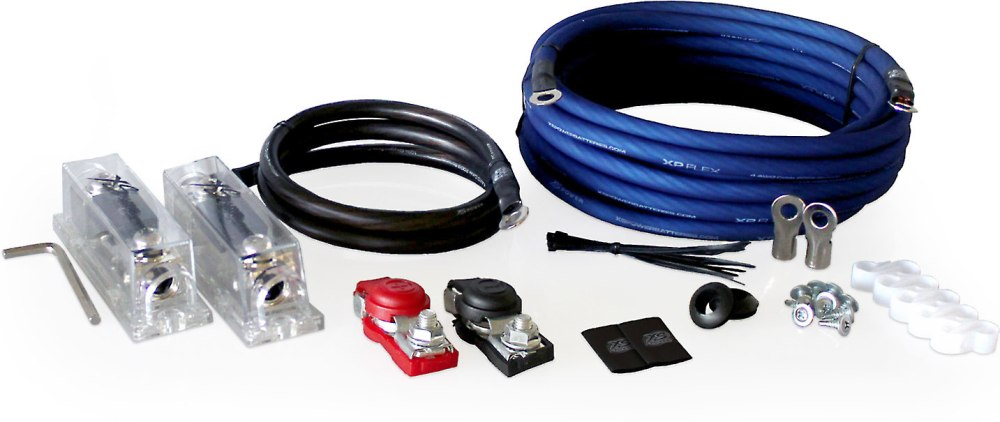 medium resolution of xs power ak2000 secondary battery wiring kit 2000 2500 watts at crutchfield com