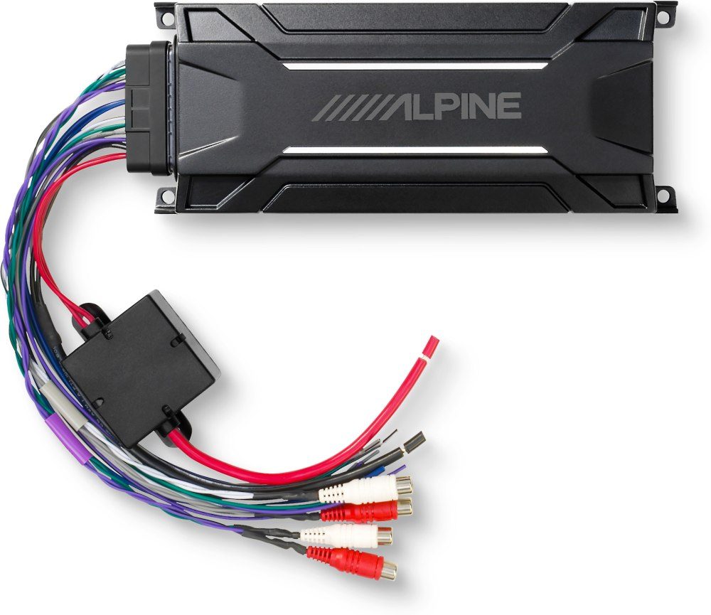 medium resolution of alpine kta 30fw tough power pack compact all weather 4 channel amplifier 75 watts rms x 4 at crutchfield com