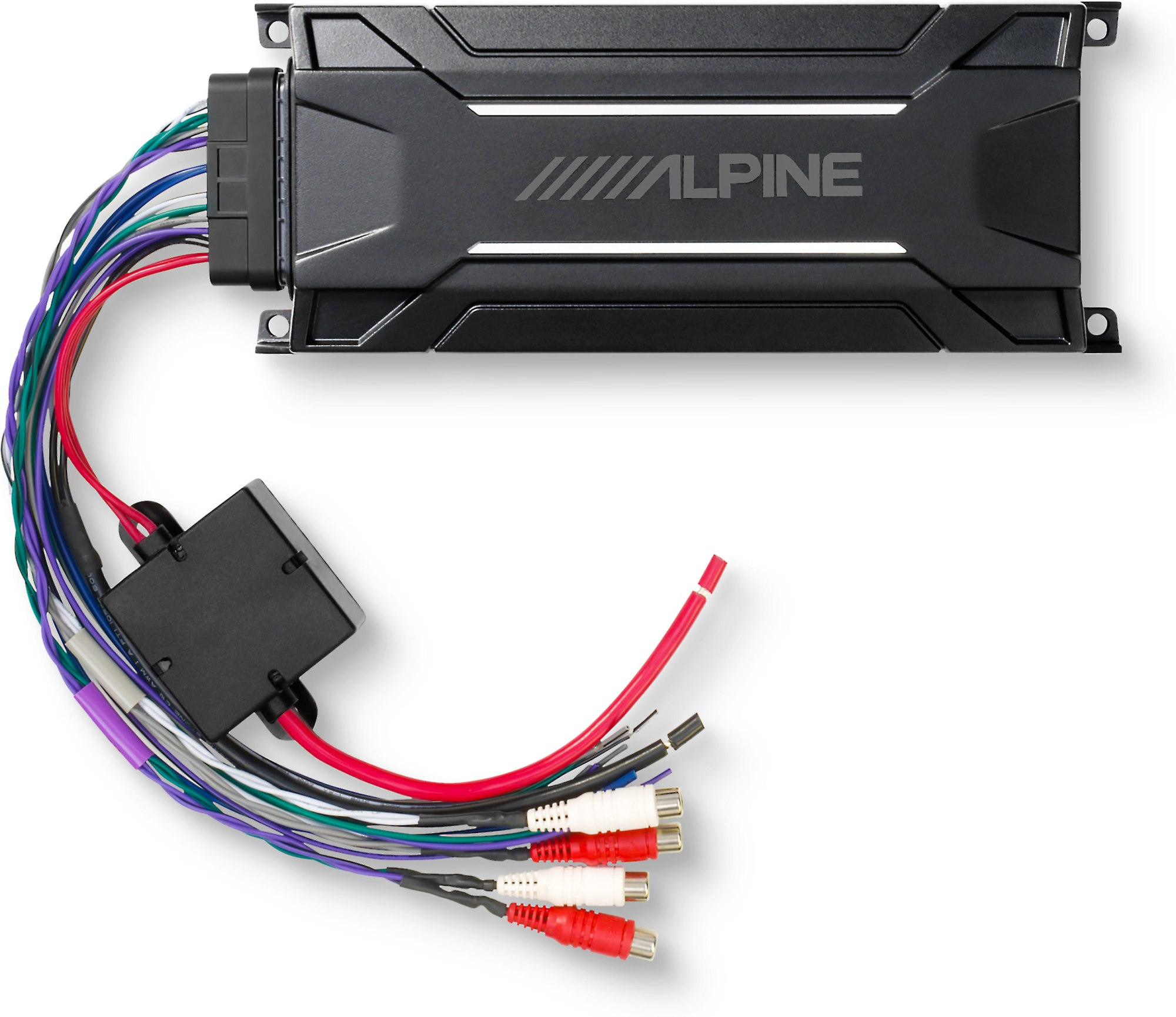 hight resolution of alpine kta 30fw tough power pack compact all weather 4 channel amplifier 75 watts rms x 4 at crutchfield com