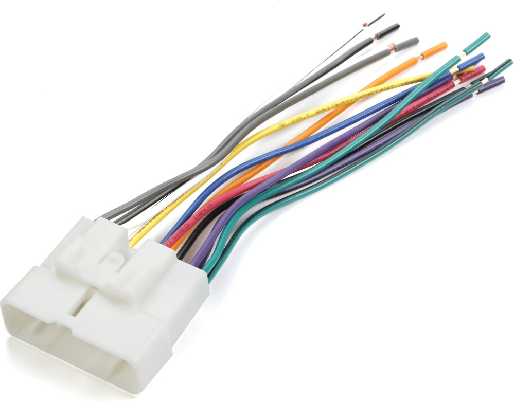 medium resolution of metra 70 7712 receiver wiring harness connect a new car stereo in select 1995 2004 acura honda and isuzu vehicles at crutchfield