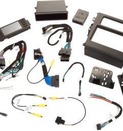 metra 99 5841b dash and wiring kit black install a new car stereo and retain steering wheel and climate controls in select 2013 up ford fusion vehicles  [ 6960 x 5571 Pixel ]