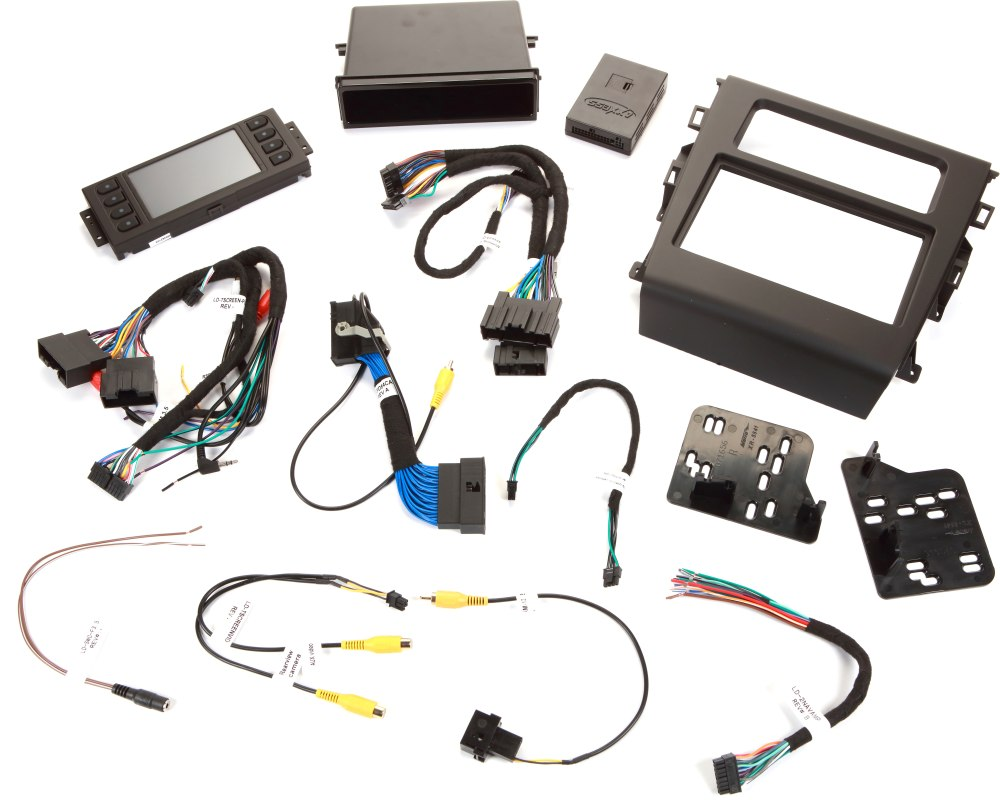 medium resolution of metra 99 5841b dash and wiring kit black install a new car stereo and retain steering wheel and climate controls in select 2013 up ford fusion vehicles