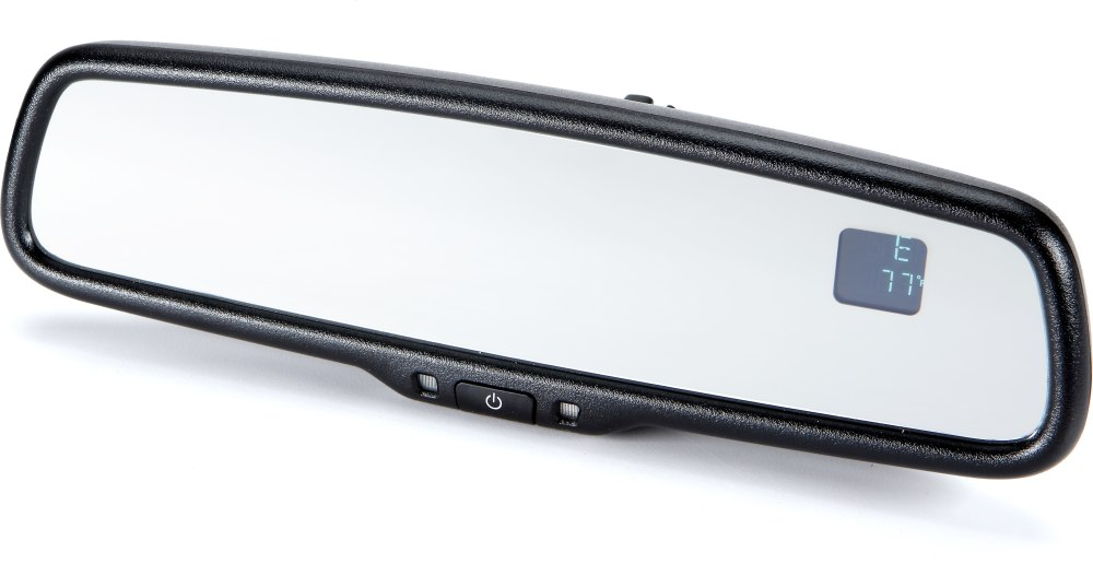 medium resolution of gentex advgen20a auto dimming rear view mirror with temperature compass display at crutchfield