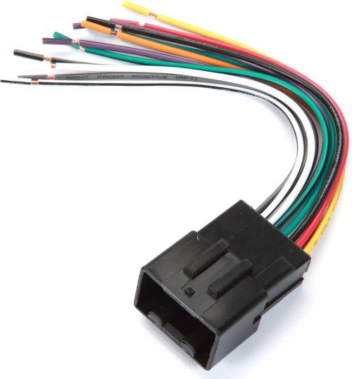 small resolution of metra 70 1771 receiver wiring harness connect a new car stereo in select 1998 2011 ford lincoln mercury and mazda vehicles at crutchfield com