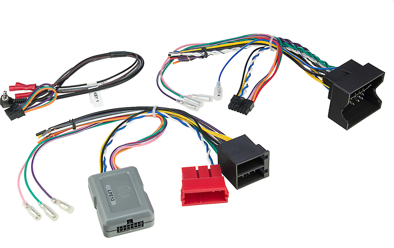 hight resolution of scosche lpe10 wiring interface connect a new car stereo in select 2003 10 porsche cayenne models without navigation or factory amp at crutchfield