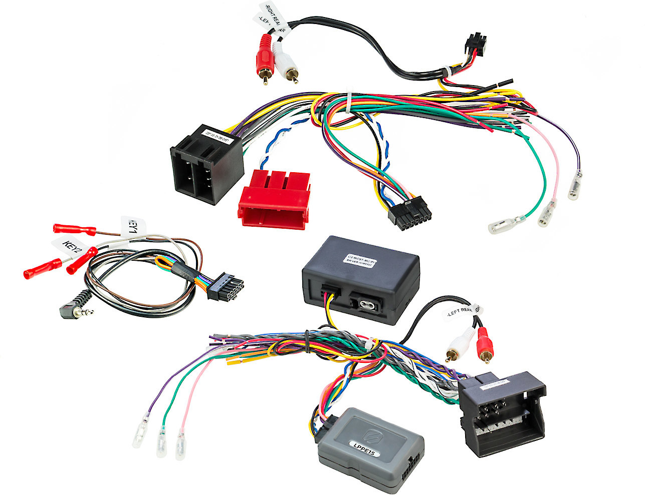 hight resolution of scosche lppe15 wiring interface connect a new car stereo to 2003 10 porsche cayenne vehicles with fiber optic amp at crutchfield