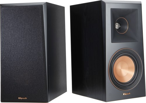 small resolution of klipsch reference premiere rp 500m ebony bookshelf speakers at crutchfield com