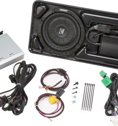 kicker vss powerstage pcocre15 upgrade the factory sound system in select 2015 up chevy colorado gmc canyon crew cab with basic audio system 2 knob  [ 5176 x 3223 Pixel ]