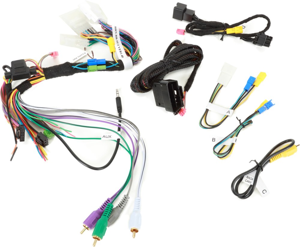 medium resolution of  idatalink hrn rr su2 interface harness retain the factory steering on