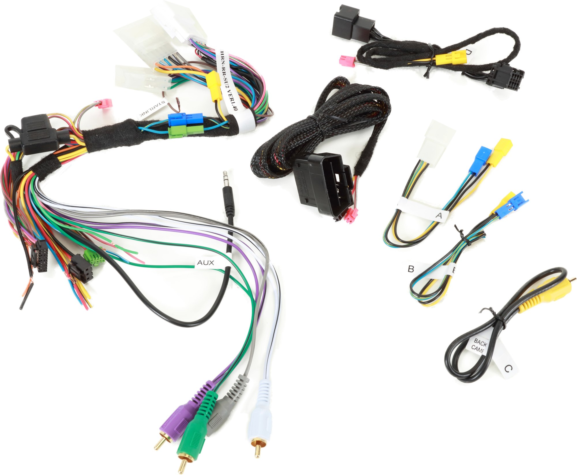 hight resolution of  idatalink hrn rr su2 interface harness retain the factory steering on