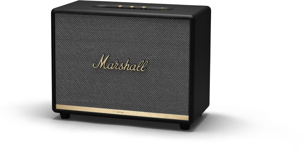 medium resolution of marshall woburn ii bluetooth black powered bluetooth speaker at crutchfield com
