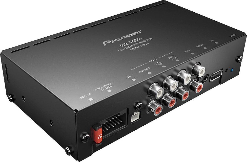 medium resolution of pioneer deq s1000a compact 4 channel car amplifier with digital m4x8mmmaxkenwood car stereo wiring harness diagram