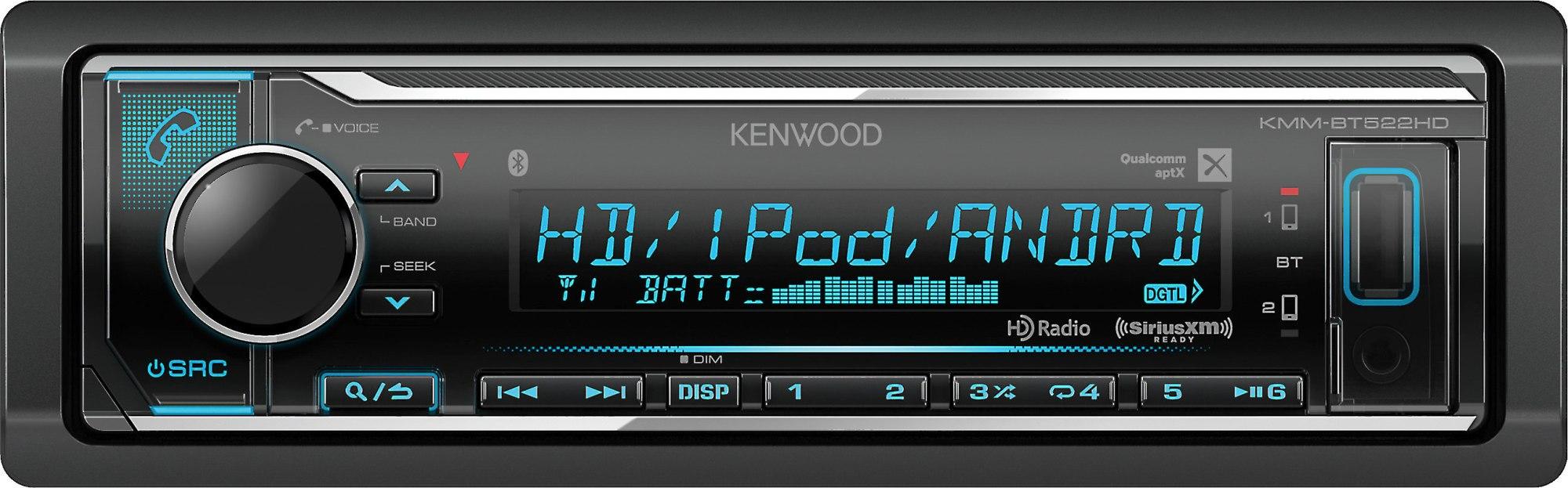 hight resolution of kenwood kmm bt522hd digital media receiver does not play cds at crutchfield