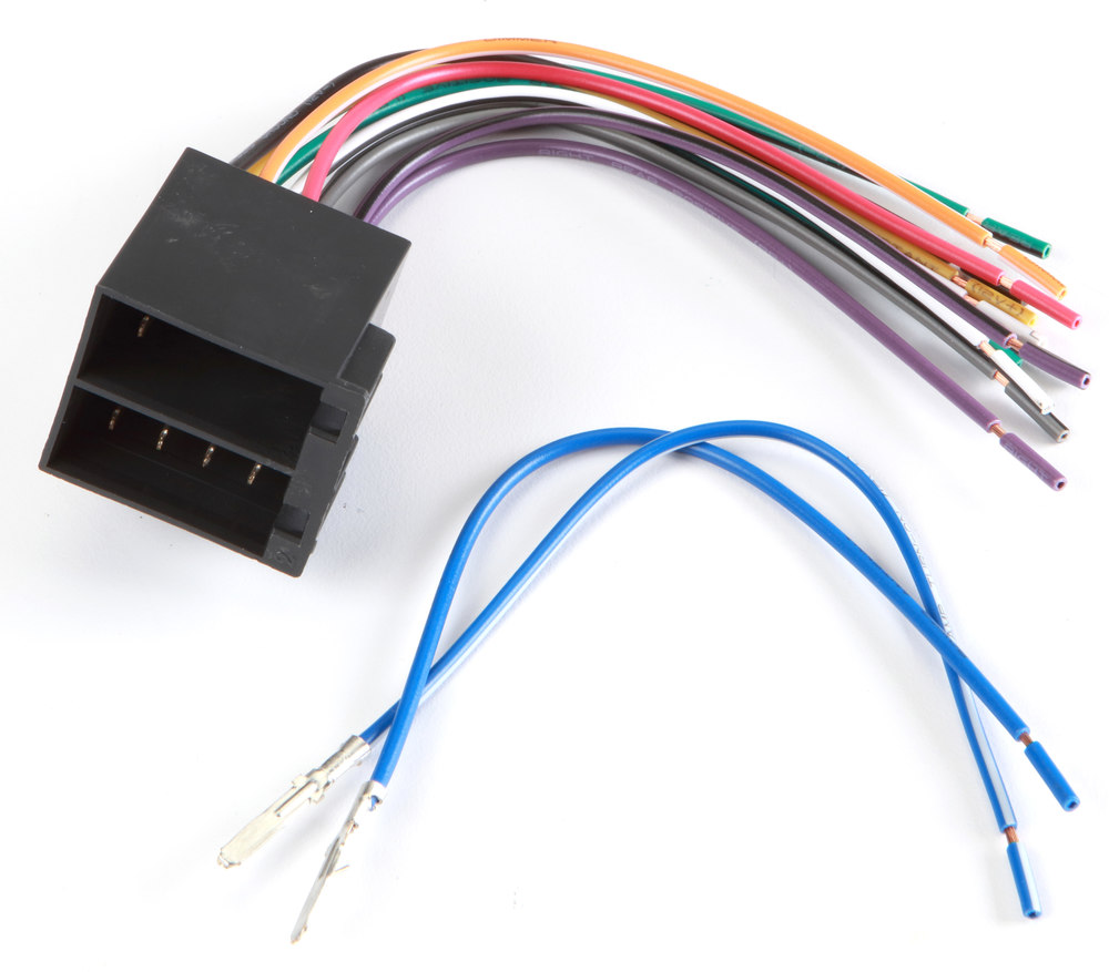 hight resolution of metra 70 1784 receiver wiring harness connect a new car stereo in select 1992 up vehicles at crutchfield com