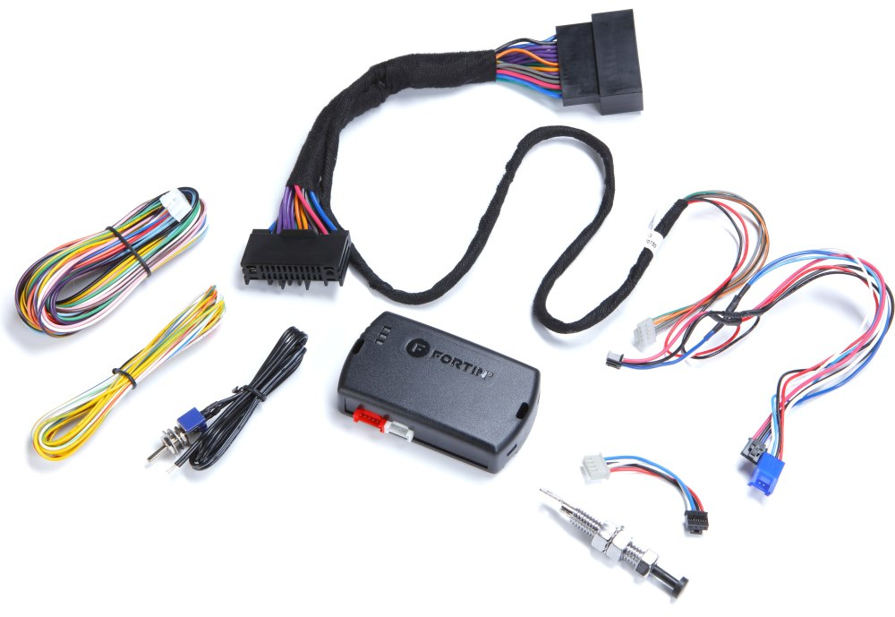medium resolution of fortin evo fort3 digital remote start system for select 2013 up ford built vehicles at crutchfield