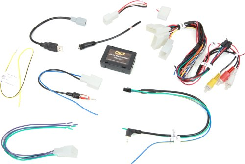 small resolution of crux swrty 61n wiring interface connect a new car stereo and retain the steering wheel audio controls and backup camera in 2012 up toyota vehicles at