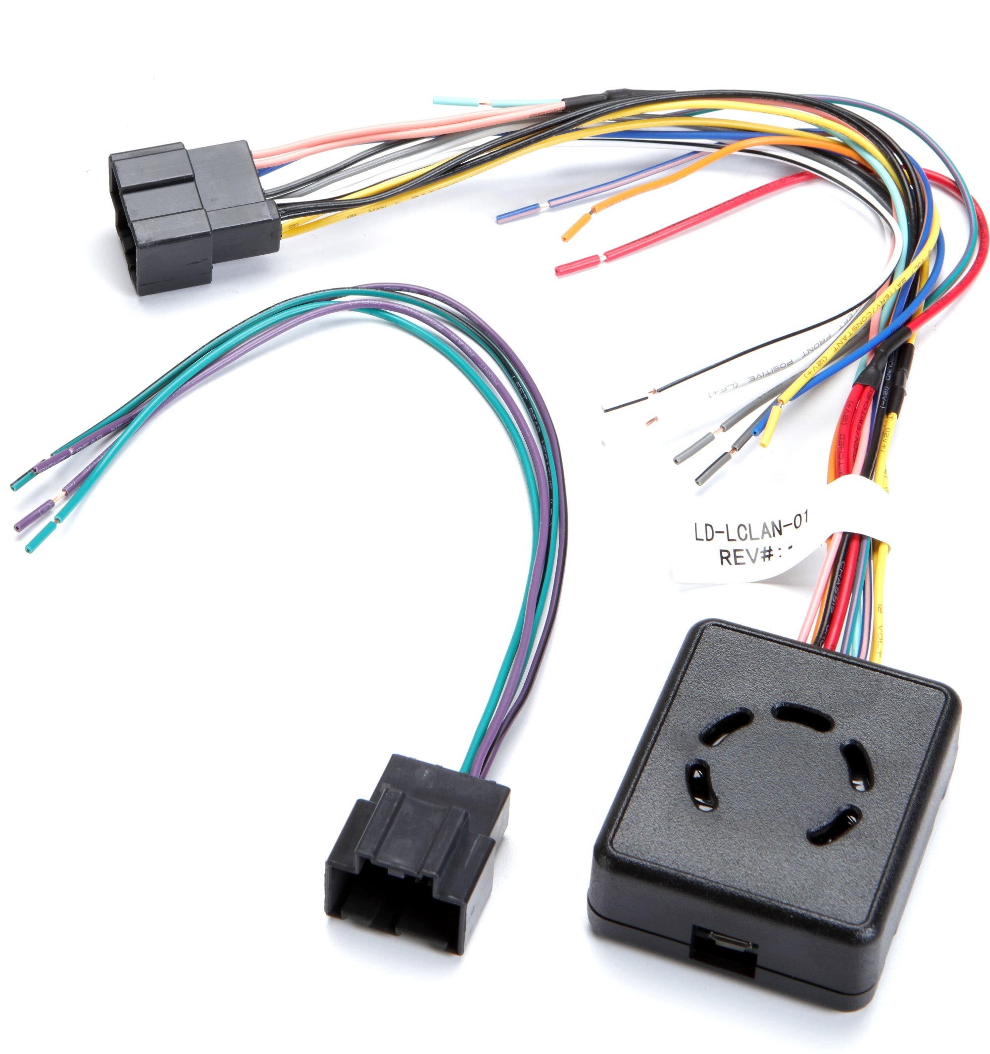 hight resolution of metra lc gmrc lan 01 wiring interface connect a new car stereo and retain factory door chimes and audible safety warnings in select 2006 12 gm vehicles at