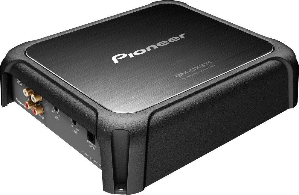 medium resolution of pioneer gm dx871 limited edition mono subwoofer amplifier 800 watts rms x 1 at 1 ohm at crutchfield com