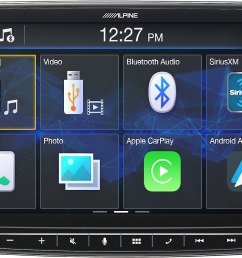 alpine ilx f259 digital multimedia receiver a 9 touchscreen that fits in a din dash opening does not play cds at crutchfield [ 1728 x 1114 Pixel ]