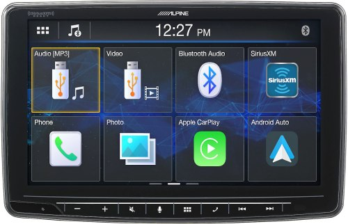 small resolution of alpine ilx f259 digital multimedia receiver a 9 touchscreen that fits in a din dash opening does not play cds at crutchfield