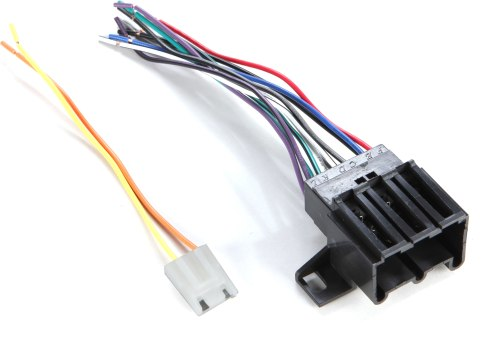 small resolution of metra 70 1677 1 receiver wiring harness connect a new car stereo in select 1970 93 general motors built vehicles at crutchfield