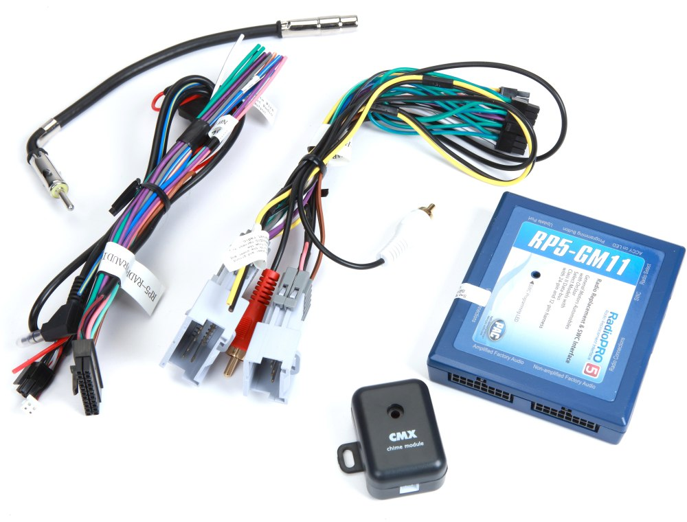 medium resolution of pac rp5 gm11 wiring interface connect a new car stereo and retain onstar factory amp and steering wheel audio controls in select 2000 up gm vehicles at
