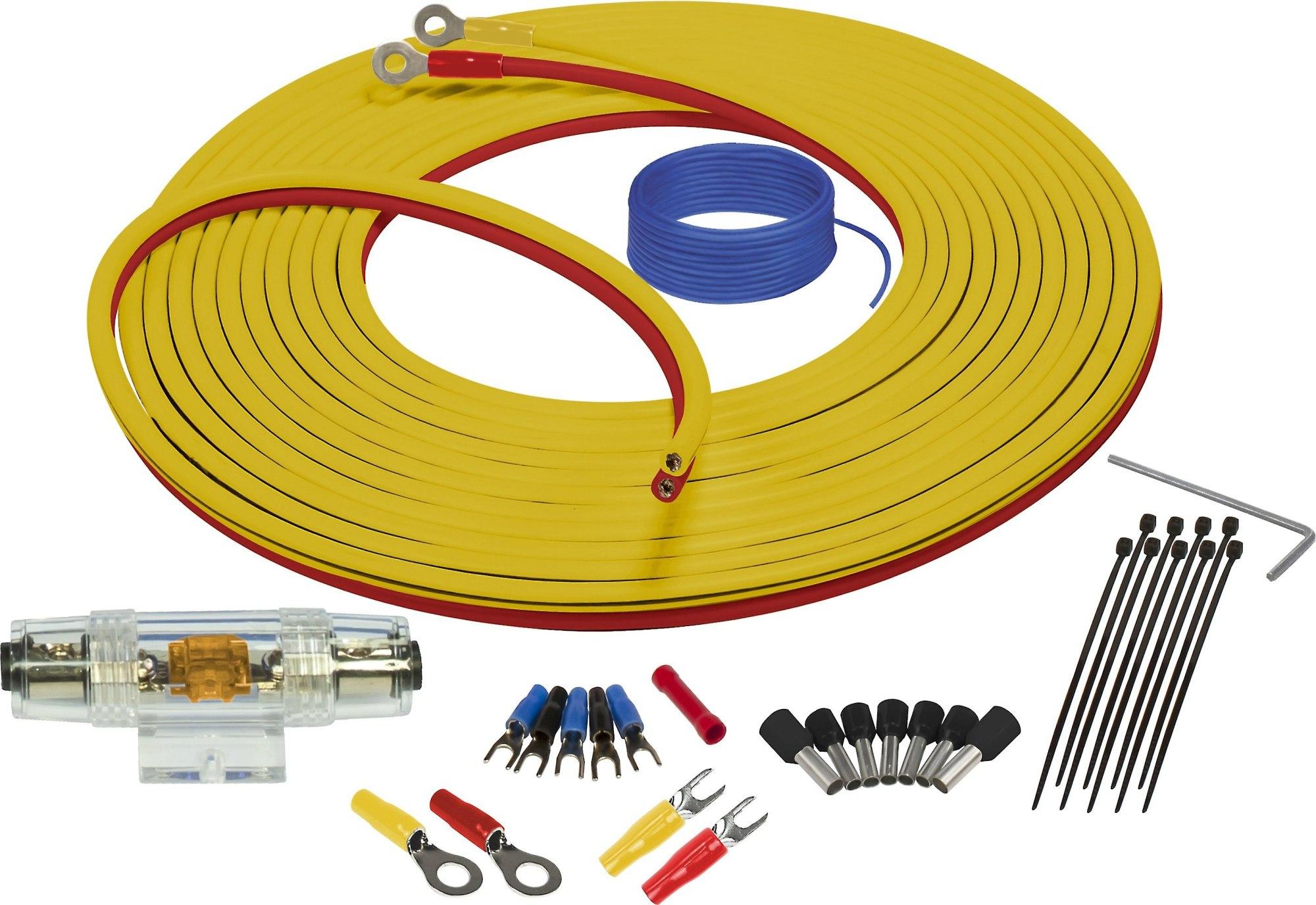 hight resolution of stinger sea4283 9 8 feet 8 gauge marine amplifier wiring kit at marine electrical audio wiring kit
