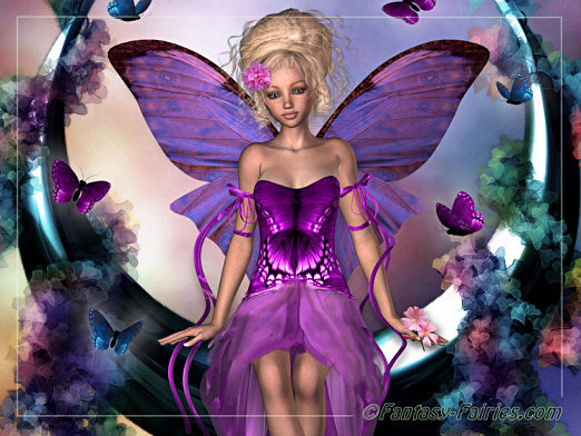 Fall Fairys Wallpapers Purple Fairy Butterflies Facebook Comments And Graphics