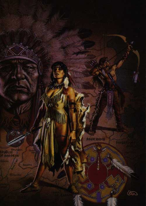 Animated Dj Wallpaper Native American Fantasy Art Facebook Comments And Graphics