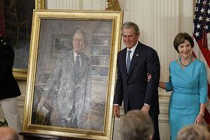 george w bush presidential