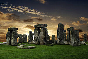 Stonehenge built as a symbol of peace and unity British