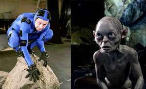 Lord of the Rings comes to life with a Gollum statue at Wellington International Airport