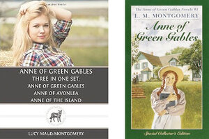 Blonde Anne of Green Gables A new cover displeases loyal readers  CSMonitorcom