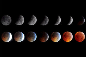 Penumbral lunar eclipse Friday So whats a penumbral