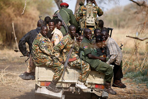 South Sudan will release four rebels clearing way for peace process  CSMonitorcom
