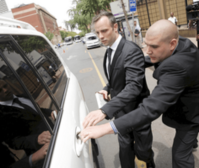 Oscar Pistorius Released On Bail Following Murder Conviction